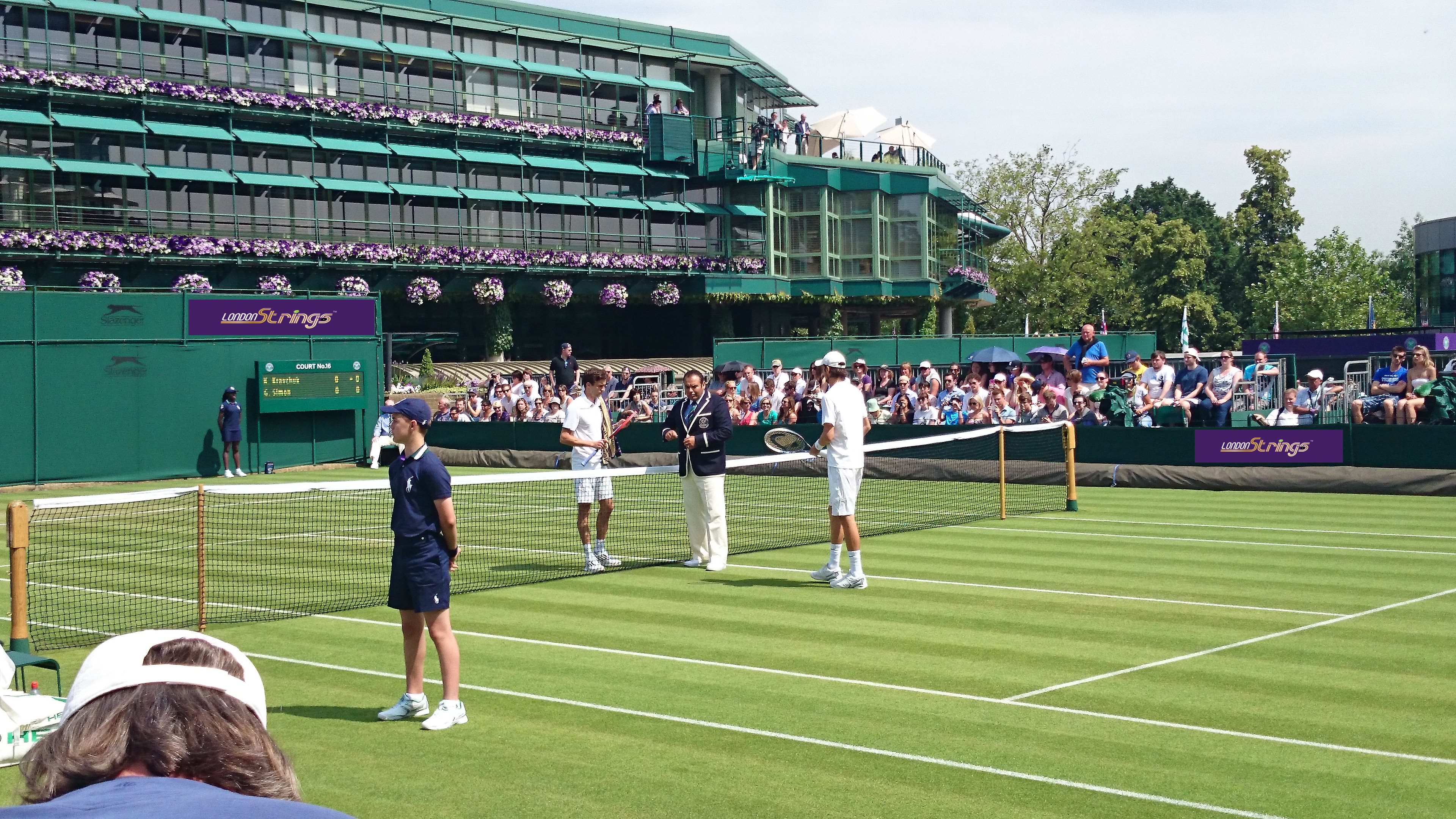 London_Strings Racket Restringing, London EC2, Wimbledon Photo